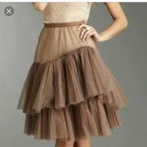 BCBG Maxara Tulle Skirt Slip skirt